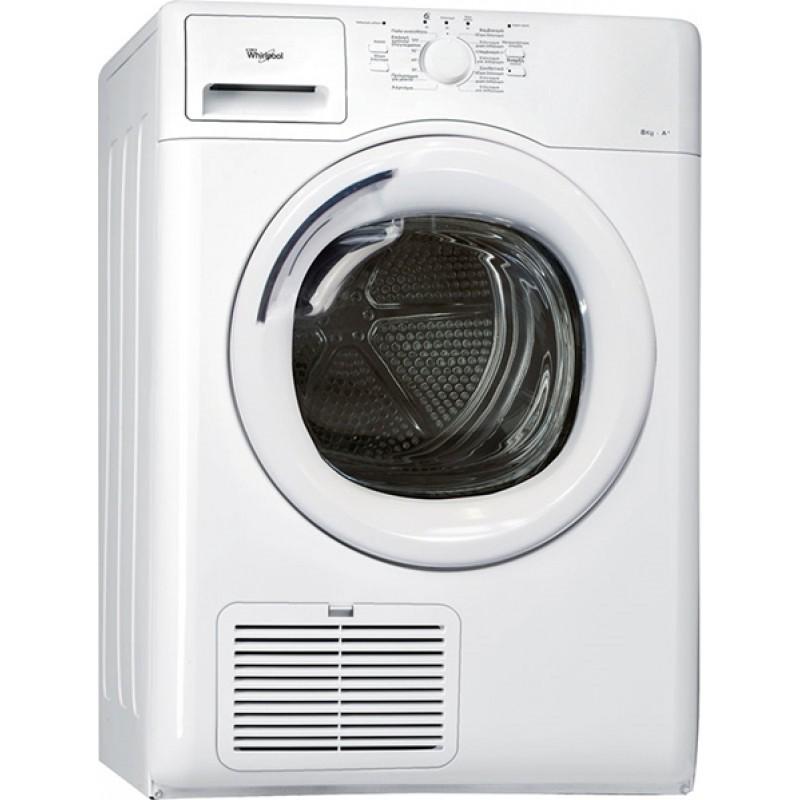 AZAHP81010  Whirlpool Στεγνωτήριο Ρούχων 8kg A+