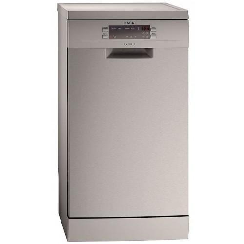AEG Πλυντήριο Πιάτων Favorit 65410M0P Inox 45cm