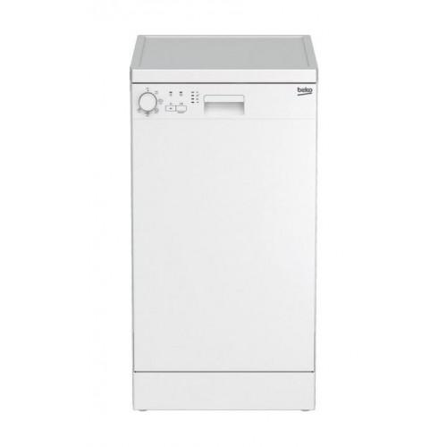 Beko Πλυντήριο Πιάτων DFS 05010 W (45cm A+)