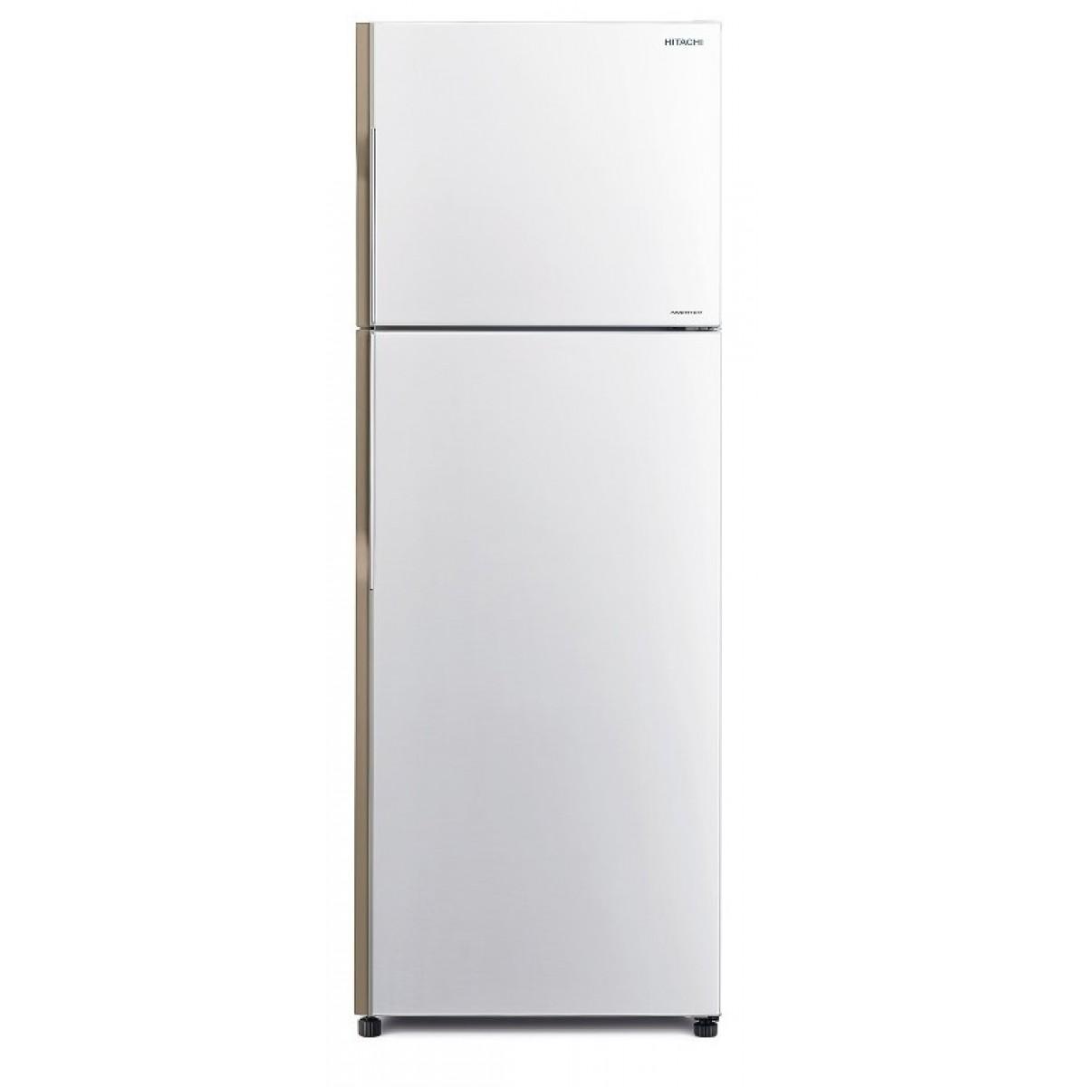 Hitachi Ψυγείο Δίπορτο NoFrost R-H350PRU7 PWH Ψυγεία δίπορτα