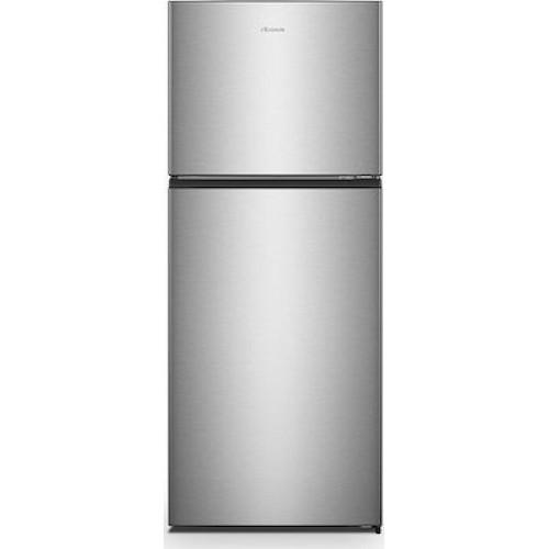 Hisense Ψυγείο Δίπορτο NoFrost Inox A++ RT488N4DC2