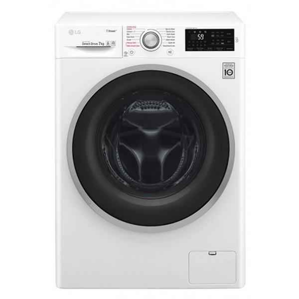 LG Πλυντήριο Ρούχων F4J6QY1W (7Kg 1400Rpm A+++ -30%)