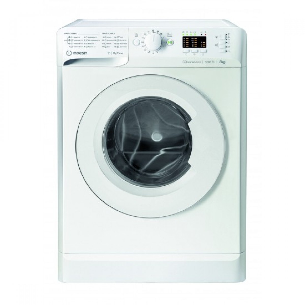 Indesit Πλυντήριο ρούχων 8kg A+++ MTWA 81283 W EE  Πλυντήρια ρούχων Ηλεκτρικες Συσκευες - homeelectrics.gr