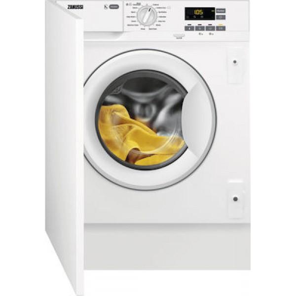 Zanussi ZWI712UDWA Εντοιχ/μενο Πλυντήριο Ρούχων 7kg Α+++