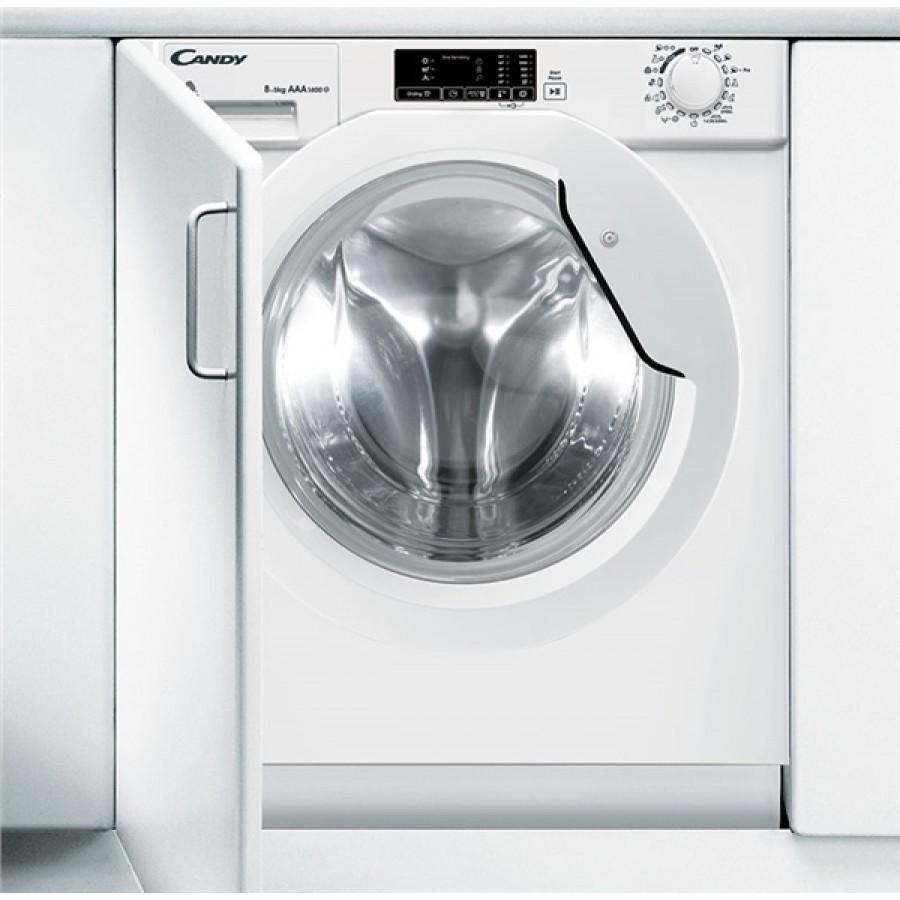 Candy Εντοιχισμένο Πλυντήριο-Στεγνωτήριο CBWD8514D-S (8Kg-5Kg 1400Rpm) Πλυντήρια Ηλεκτρικες Συσκευες - homeelectrics.gr